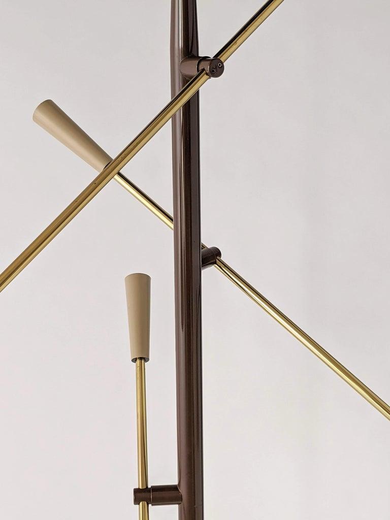 1950s Gerald Thurston Triennale Floor Lamp for Lightolier, USA For Sale 8