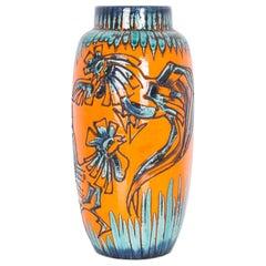 1950s German Ceramic Vase
