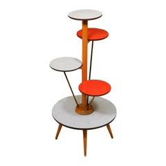 1950s German Plant Stand by Ilse Mobel
