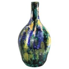 1950s Giuseppe Barile Albisola Italian Midcentury Modern Pottery Vase