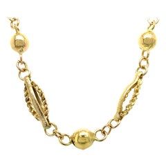 1950s Gold Necklace