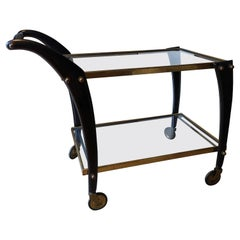 1950s Gorgeous Cesare Lacca Bar Cart