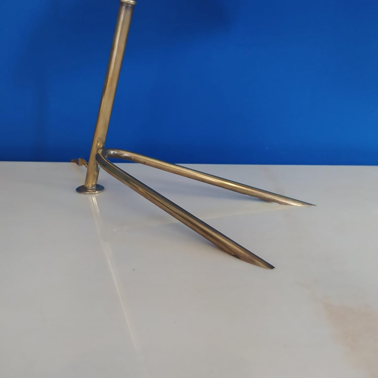 1950s Gorgeous Table Lamp by Stilnovo In Excellent Condition For Sale In Milan, IT