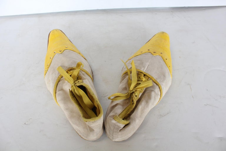1950s hand made clown shoes
