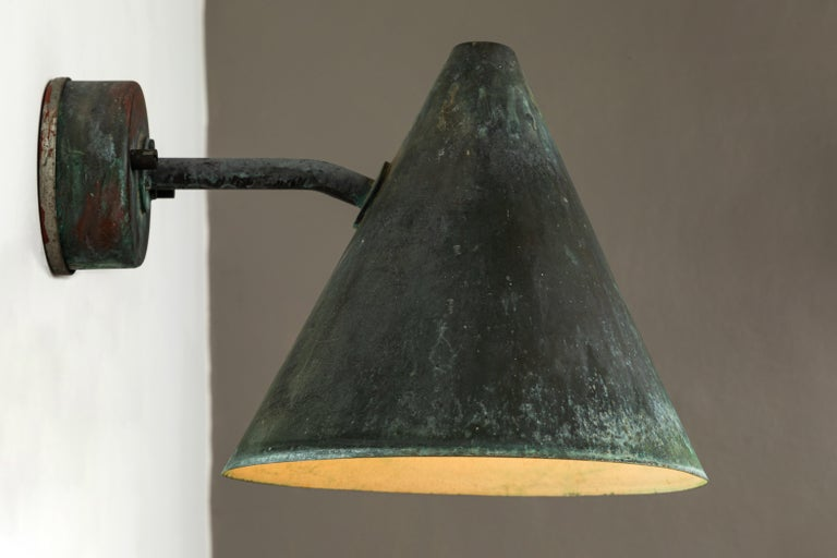 Swedish 1950s Hans-Agne Jakobsson 'Tratten' Outdoor Sconces