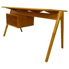 1950s Hillestak Desk Designed by Robin Day or Hille of London