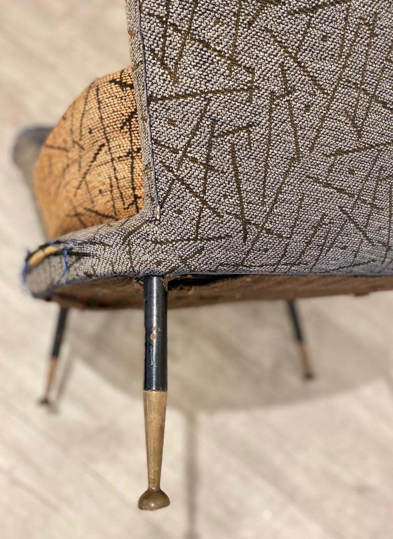 1950s Italian Armchair by Poltrona Frau For Sale 1