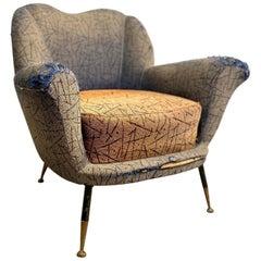 1950s Italian Armchair by Poltrona Frau