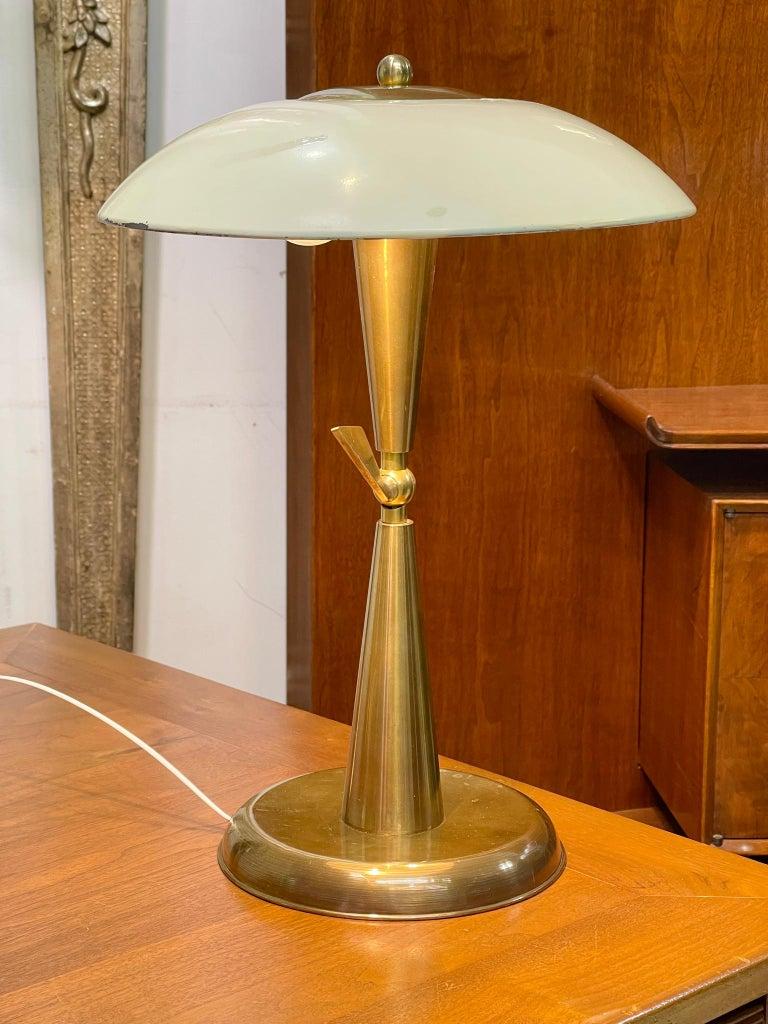 1950's Italian Articulating Desk Lamp For Sale 3