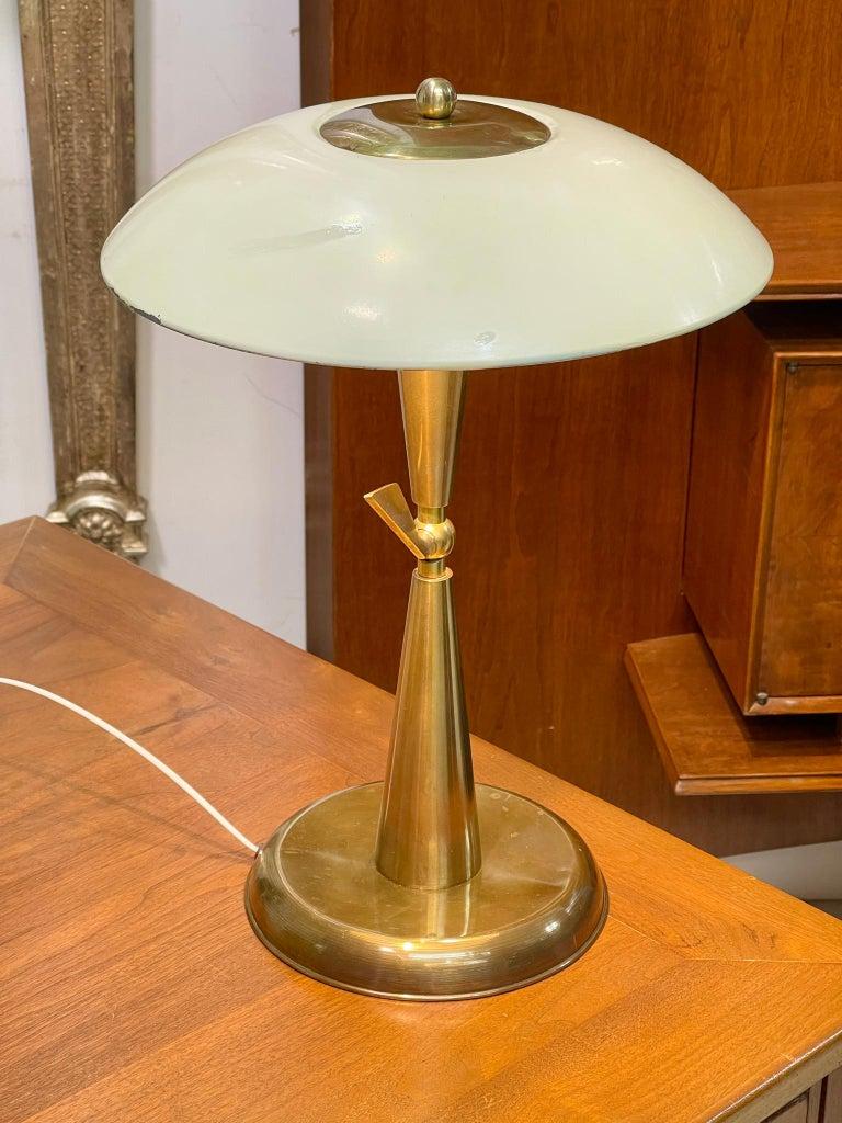 1950's Italian Articulating Desk Lamp For Sale 4