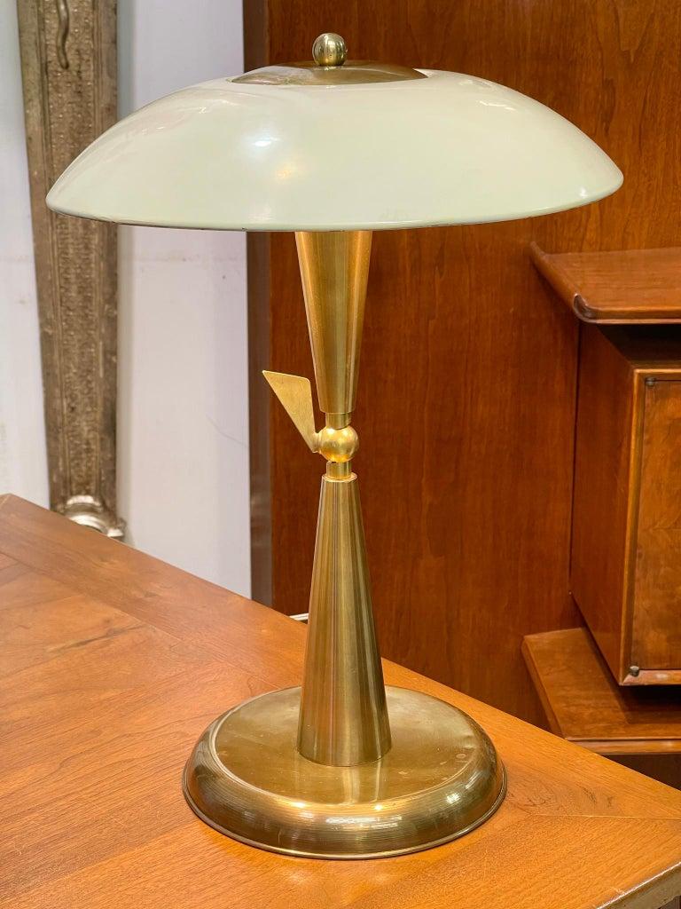 1950's Italian Articulating Desk Lamp For Sale 6
