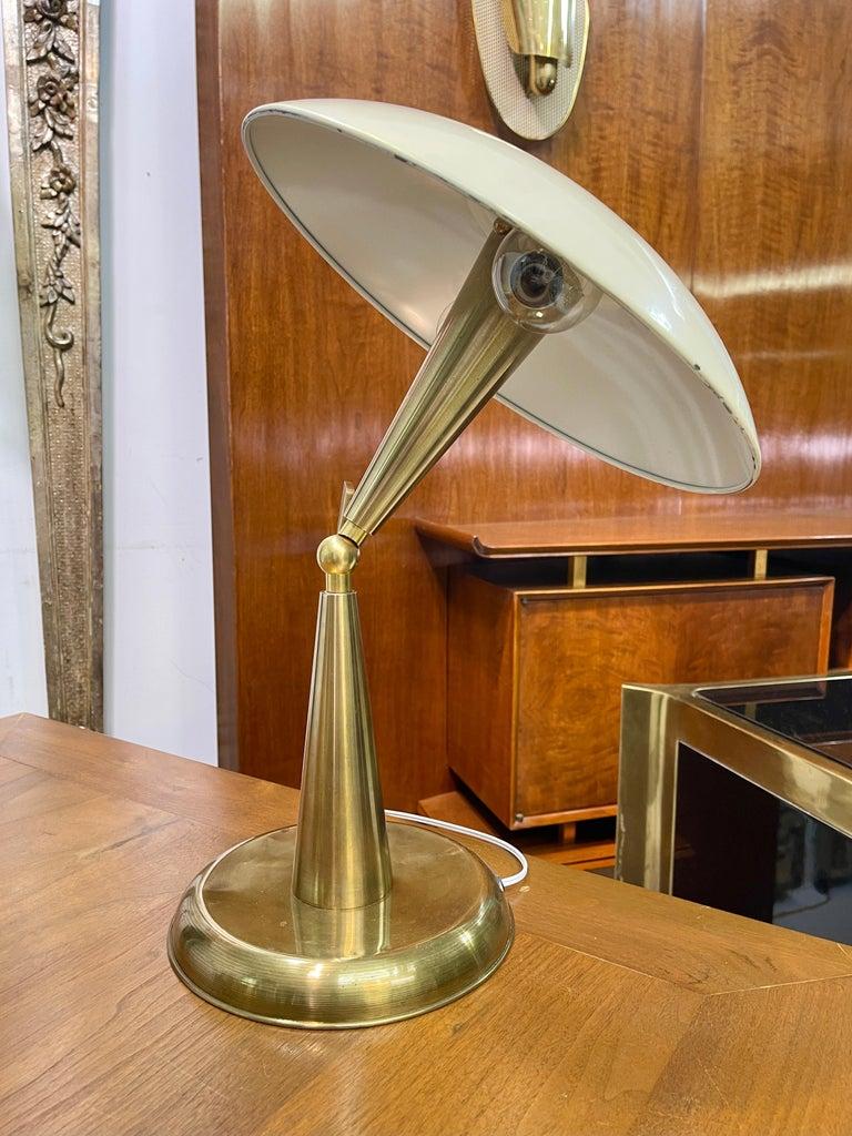1950's Italian Articulating Desk Lamp For Sale 10
