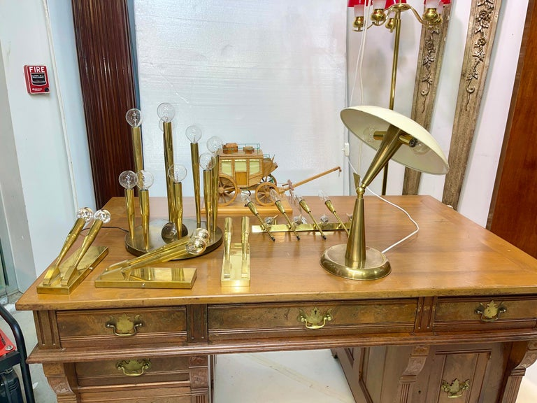1950's Italian Articulating Desk Lamp For Sale 11
