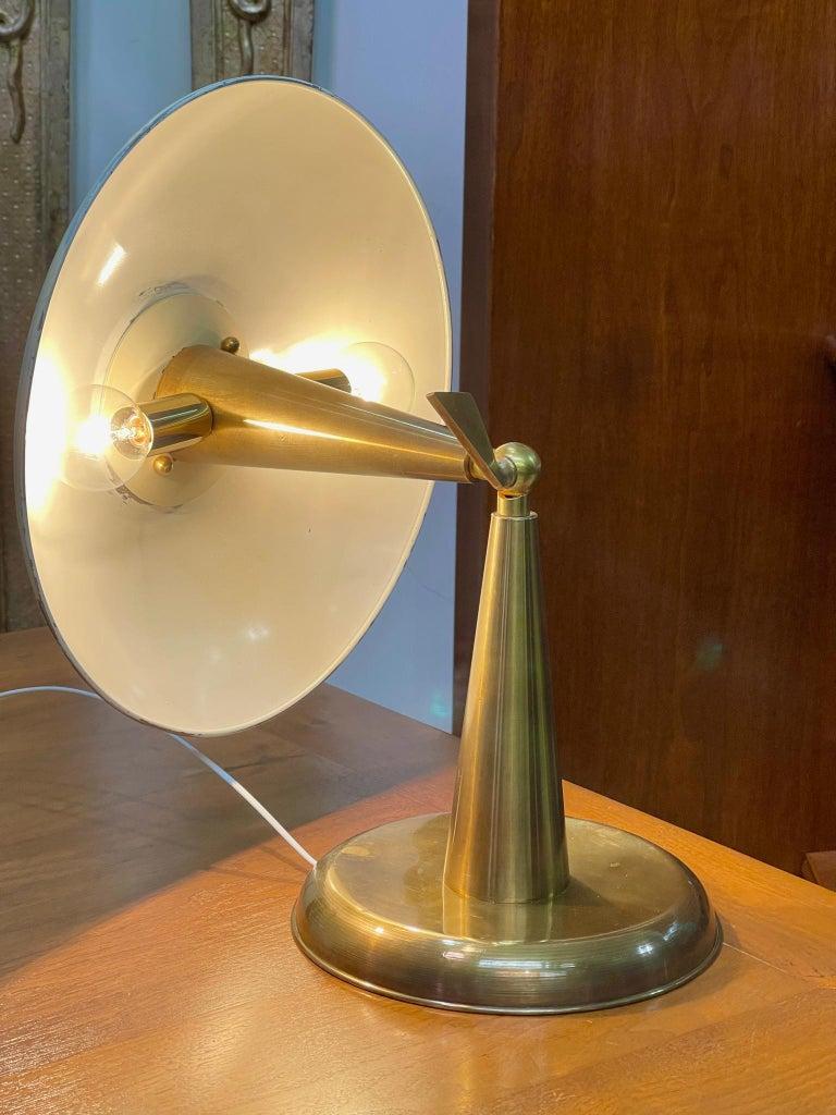 1950's Italian Articulating Desk Lamp For Sale 2