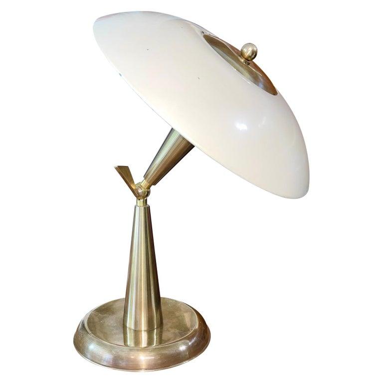 1950's Italian Articulating Desk Lamp For Sale
