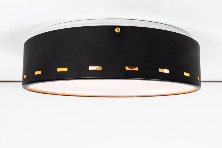 1950s Italian Ceiling Lamp Attributed to Bruno Gatta for Stilnovo For Sale 3