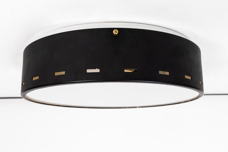 1950s Italian Ceiling Lamp Attributed to Bruno Gatta for Stilnovo For Sale 4