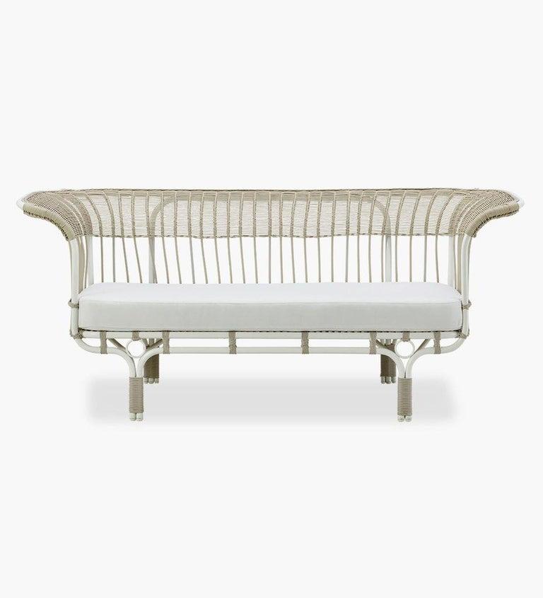 Mid-Century Modern 1950s Italian Design Outdoor Sofa by Franco Albini For Sale