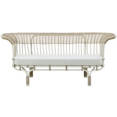 1950s Italian Design Outdoor Sofa by Franco Albini