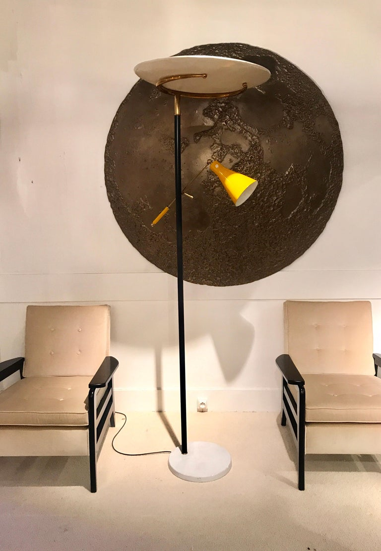 Mid-Century Modern 1950s Italian Floor Lamp For Sale