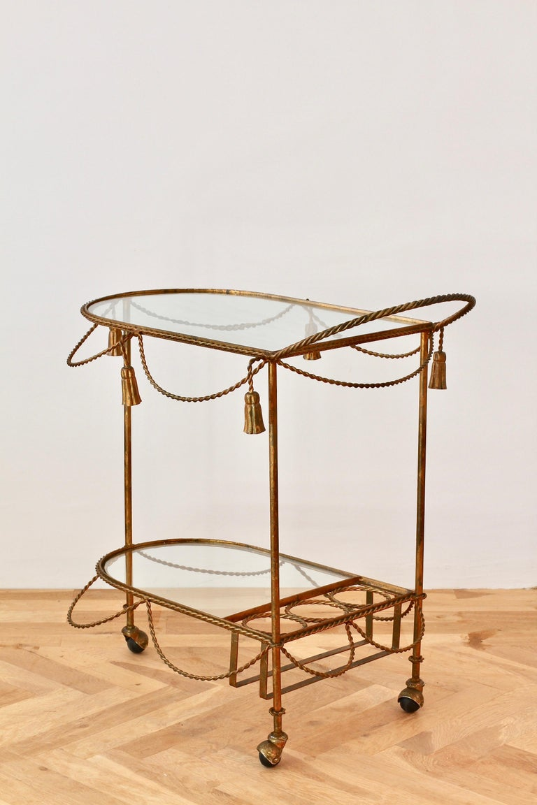 Other Italian Mid Century Drinks Trolley Fine Craftsmanship