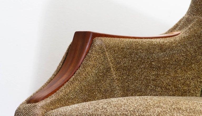 1950s, Italian Lounge or Easy Chair by Aldo Morbelli for Isa Bergamo 7