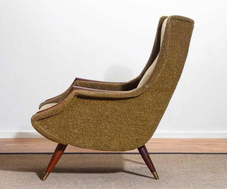 1950s, Italian Lounge or Easy Chair by Aldo Morbelli for Isa Bergamo 8