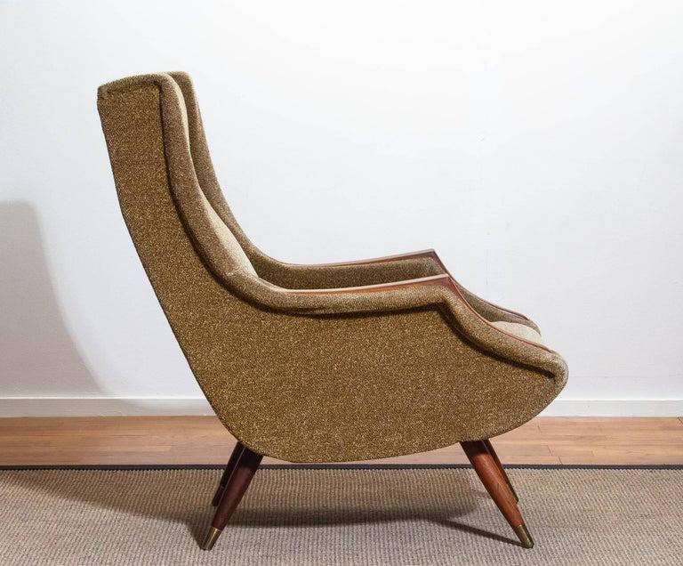 1950s, Italian Lounge or Easy Chair by Aldo Morbelli for Isa Bergamo 9