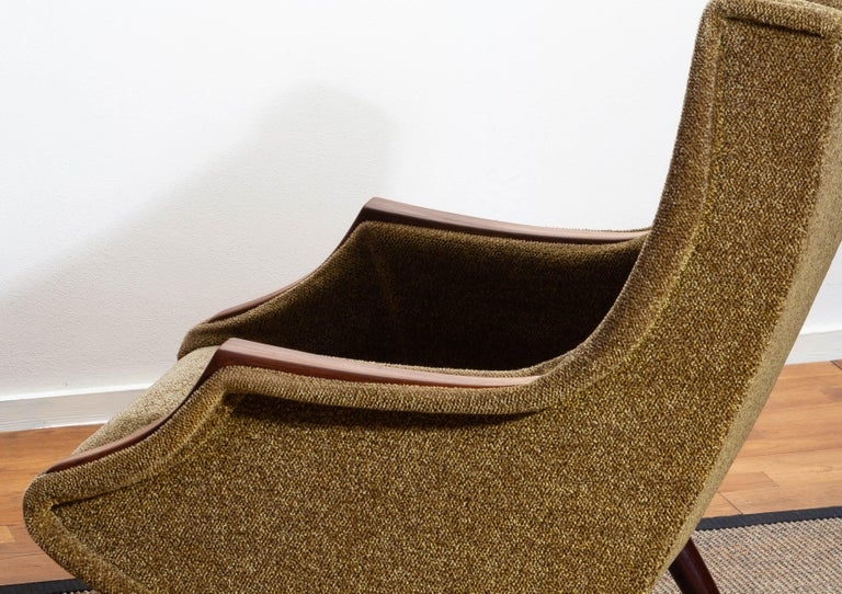 1950s, Italian Lounge or Easy Chair by Aldo Morbelli for Isa Bergamo 3
