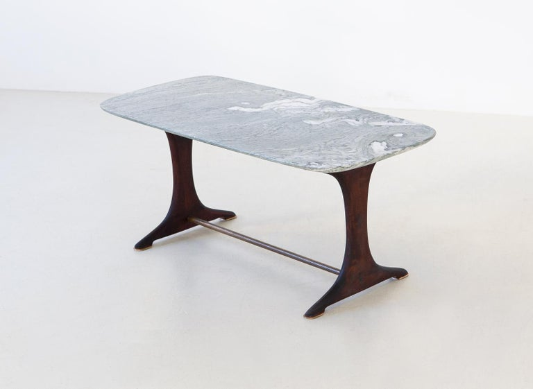 A coffee table, manufactured in Italy during the 1950s 