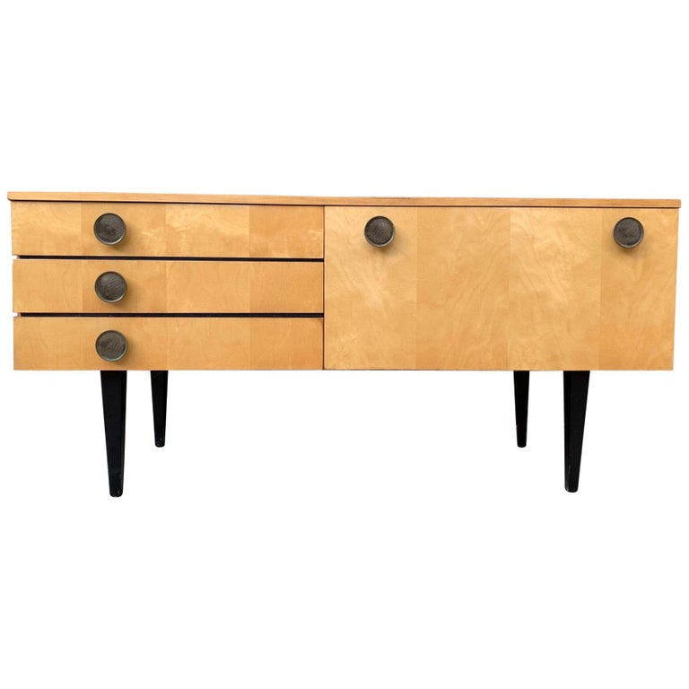 1950s Italian Low Credenza For Sale