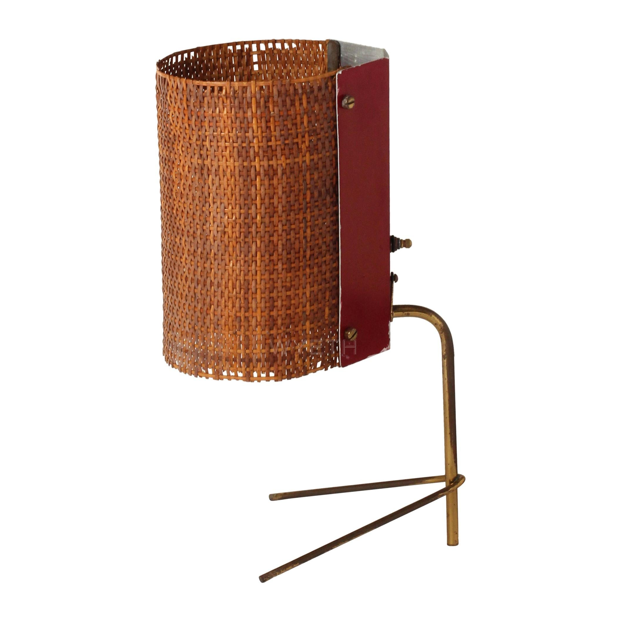 1950s Italian Modernist Table Lamp by Raymor