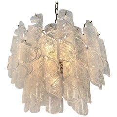 1950s Italian Murano Glass Chandelier