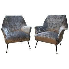 1950s Italian Pair of Armchairs