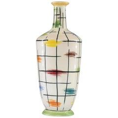 1950s Italian Pucci Umbertide Colorful Ceramic Vase