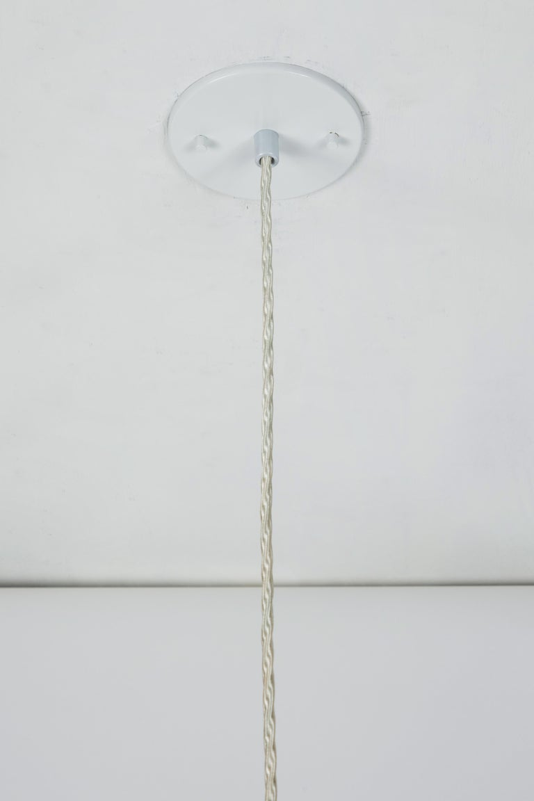 1950s Italian Suspension Lamp Attributed to Ettore Sottsass for Arredoluce For Sale 6