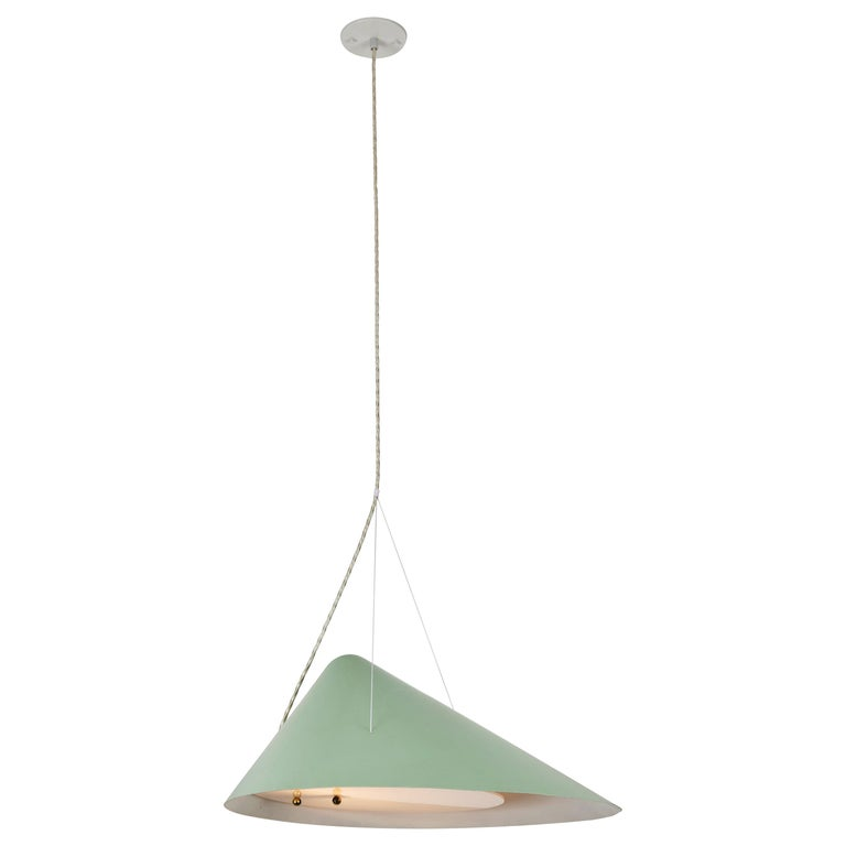 1950s Italian Suspension Lamp Attributed to Ettore Sottsass for Arredoluce For Sale