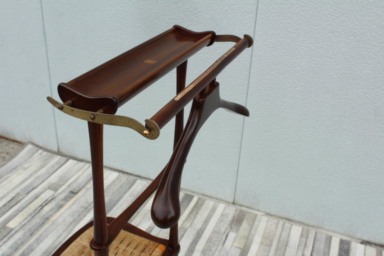 1950's Italian Valet Chair by SPQR In Good Condition In New York City, NY
