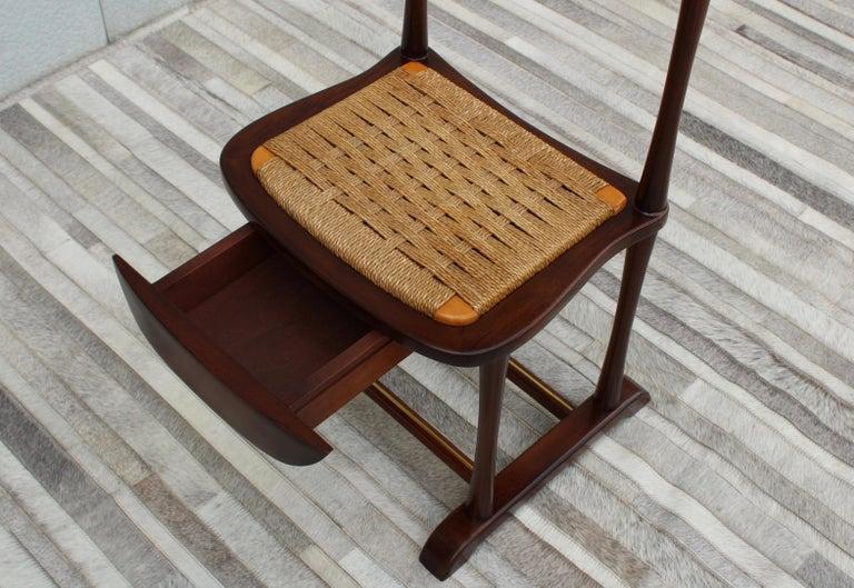 Brass 1950's Italian Valet Chair by SPQR
