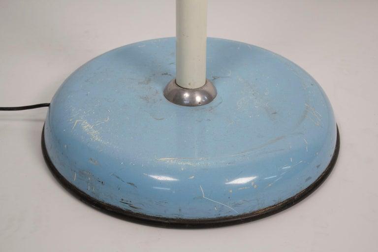 1950s Italian Zodiac Rotary Floor Fan produced by San Giorgio In Good Condition For Sale In Dallas, TX