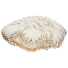 1e3374fe903 1950s Ja-Lee of New York Bridal Cap With Ornate Beading and Snowflake Design