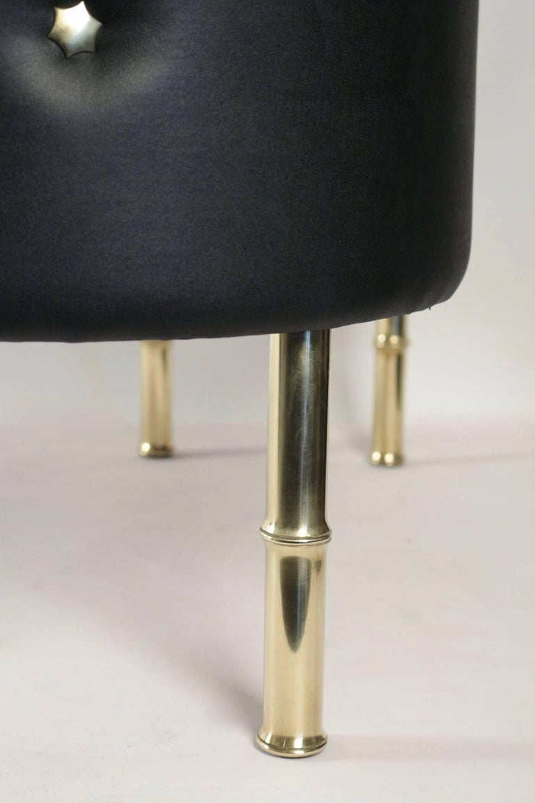French 1950s Jacques Adnet Bar For Sale