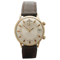 1950s Jaeger-LeCoultre Memovox Yellow Gold 2979-911 Wristwatch