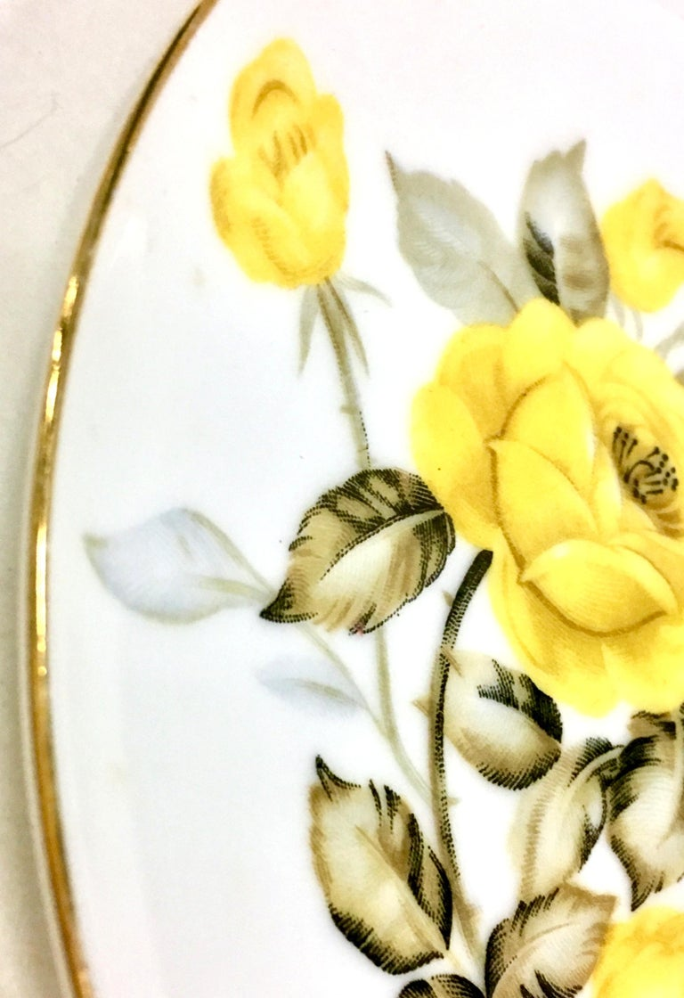 1950'S Japanese Porcelain & 22K Gold