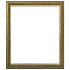 1950s Large Wood Frame