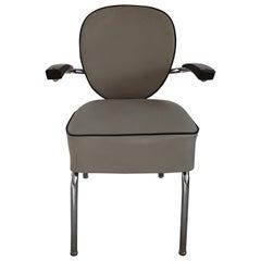 1950s Leather Armchair