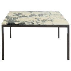 1950s Lewis Butler Midcentury Design Marble Coffee Table for Knoll International