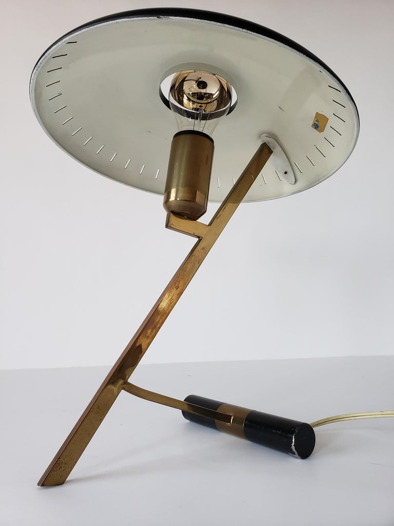 1950s Louis Kalff  'Z' Table Lamp, Holland For Sale 3