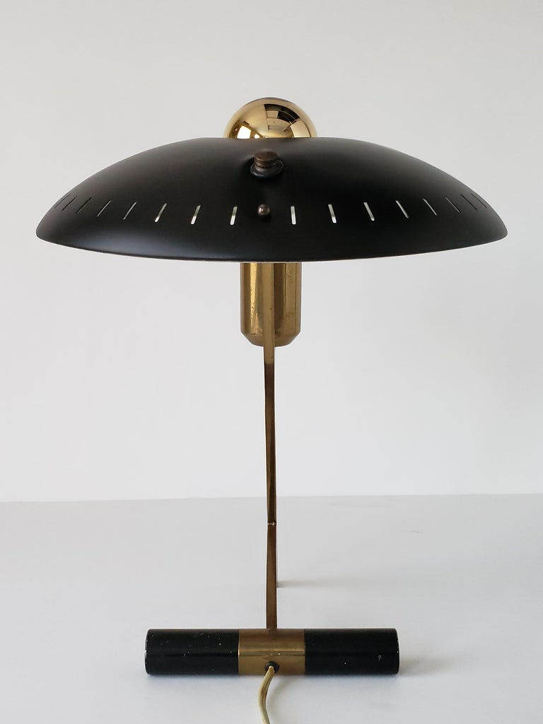Dutch 1950s Louis Kalff  'Z' Table Lamp, Holland For Sale
