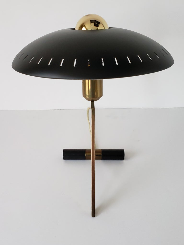 Mid-20th Century 1950s Louis Kalff  'Z' Table Lamp, Holland For Sale